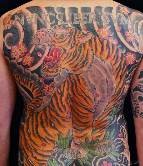 Wonderful Tiger Tattoo