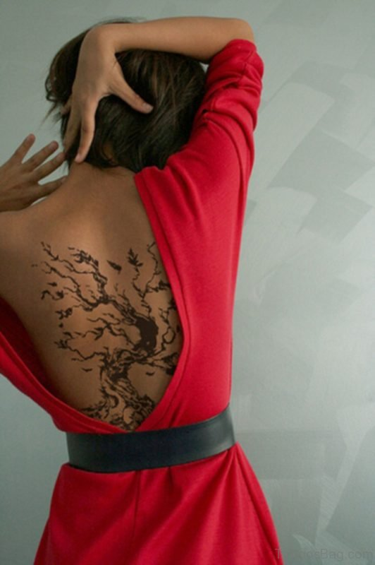 Wonderful Tree Tattoo