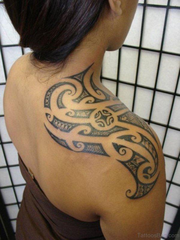 Wonderful Tribal Designer Tattoo For Women