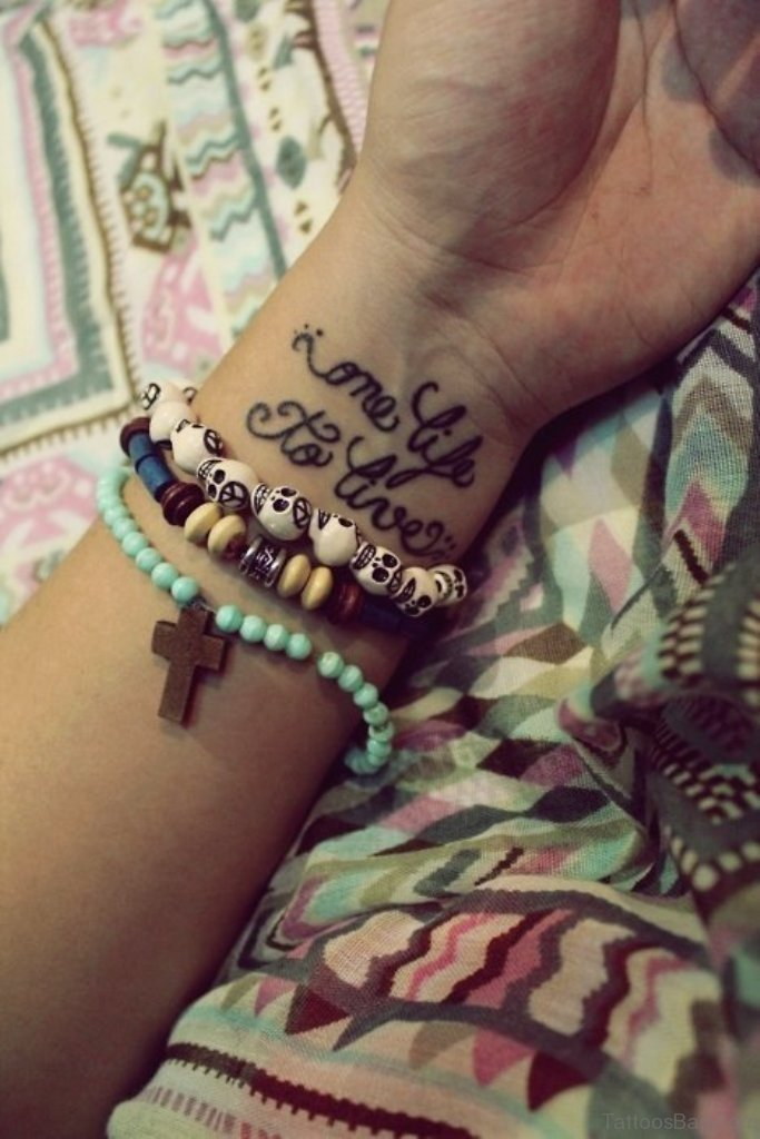 71 Famous Quotes Tattoos For Wrist