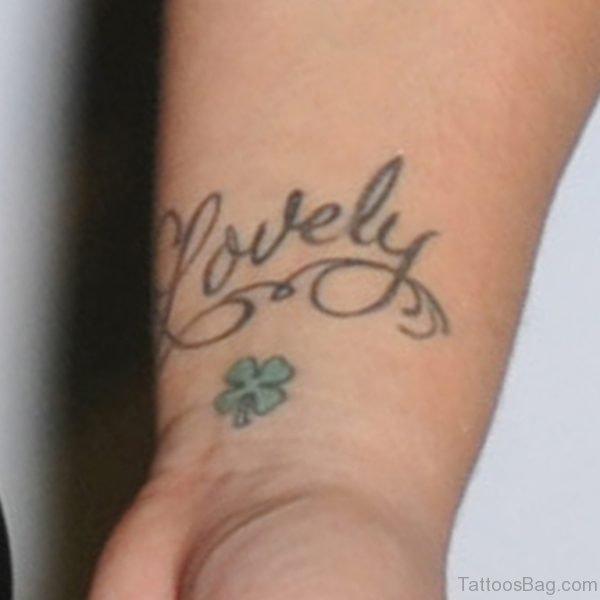 Wonderful Wording Tattoo