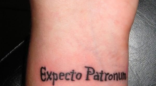 Word Tattoo On Wrist