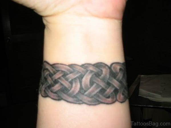 Wrist Band Celtic Tattoo