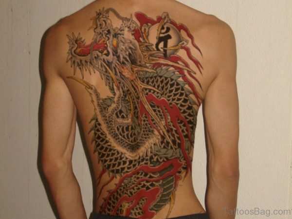 Yakuza Dragon Tattoo