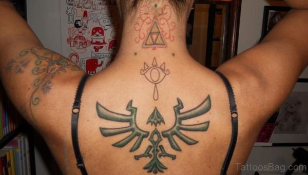 Zelda Back Tattoo