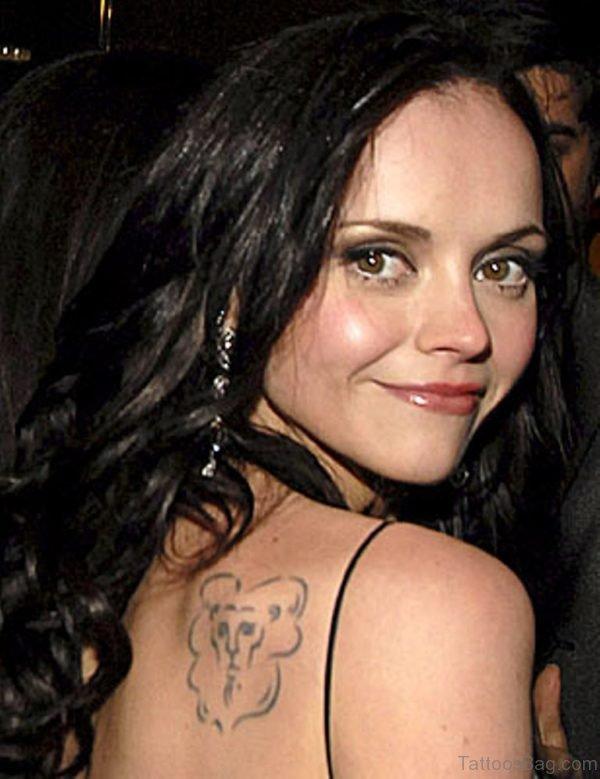Zodiac Aquarius Tattoo On Shoulder