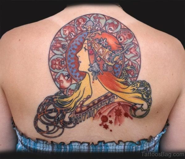 Zodiac Girl Tattoo