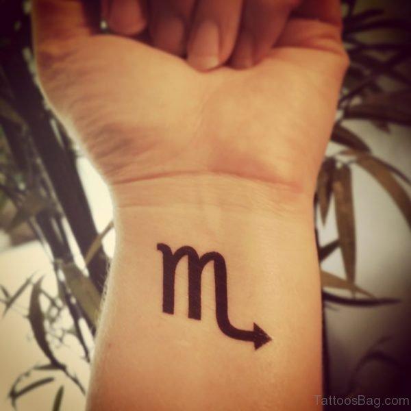 Zodiac Word Tattoo