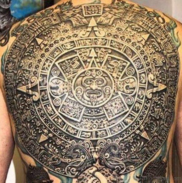 Cultural Aztec Tattoo