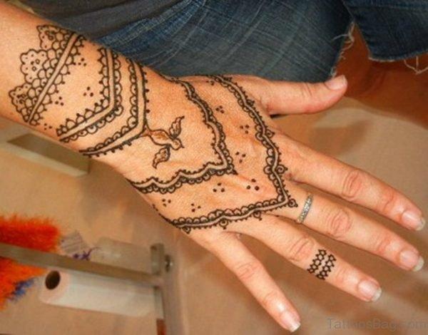 Heena Tattoo Picture