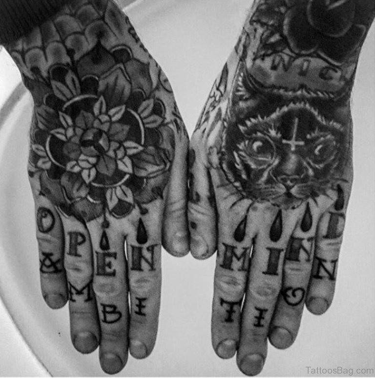 75 Finger Tattoos For Men: 80 Super Awesome Finger Tattoos For Men