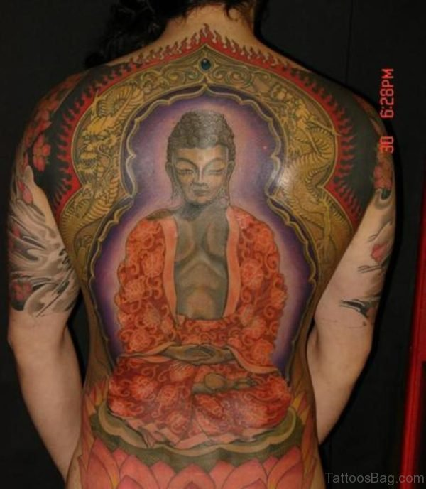 Stunning Buddha Tattoo Design