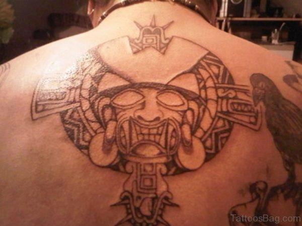 Tribal Aztec Tattoo