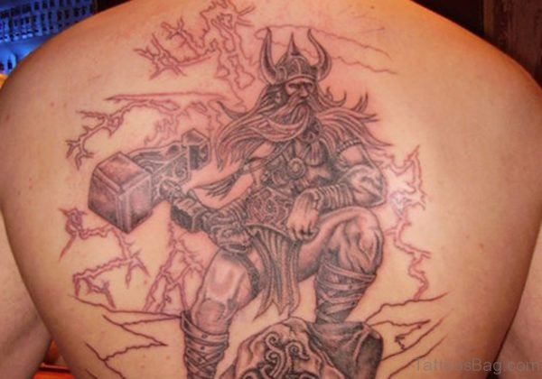 Viking Hammer Tattoo