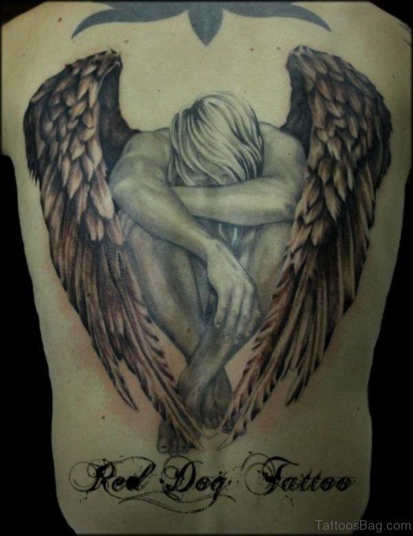 Winged Angel Tattoo
