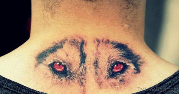 Wolf Eyes Tattoo