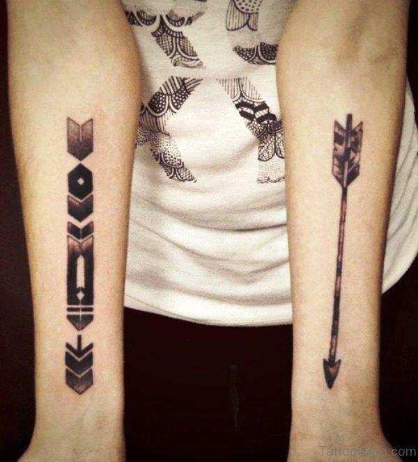Adorable Arrow Tattoos On Arm