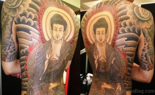 Adorable Buddha Tattoo Design 1
