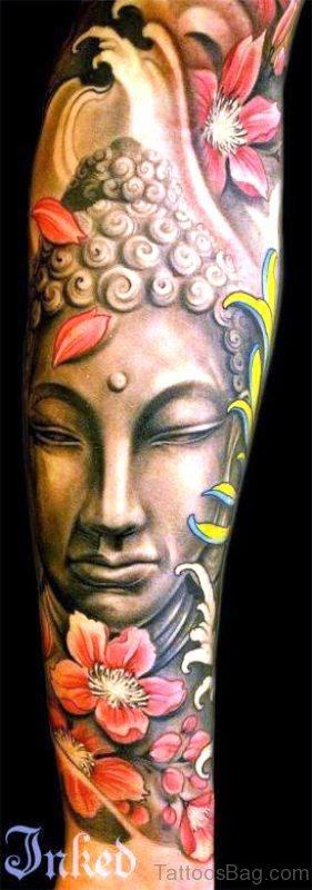 Adorable Buddha Tattoo Design