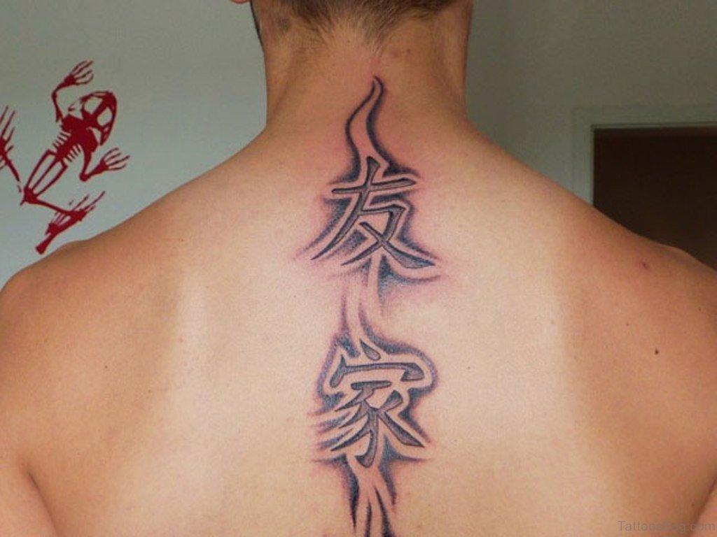 53 delightful symbol neck tattoos