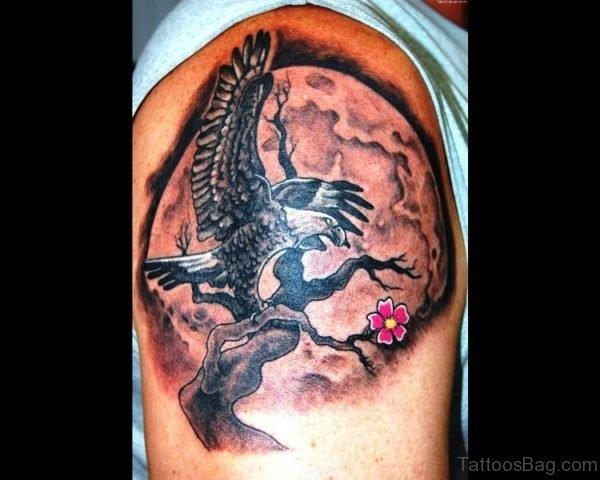 Adorable Eagle Tattoo Design