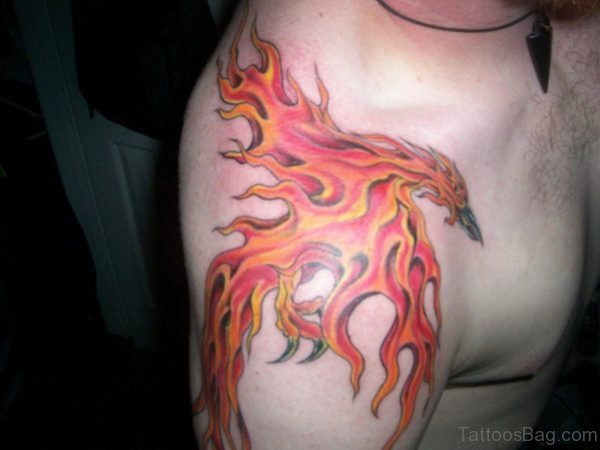 Adorable Phoenix Tattoo