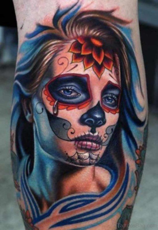 Adorable Portrait Tattoo Design