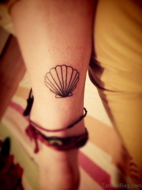Adorable Seashell Tattoo