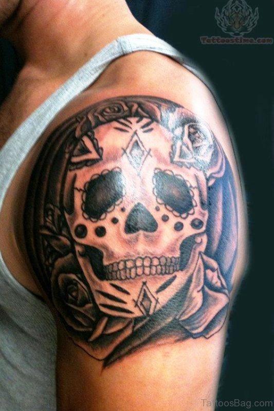 Adorable Skull Tattoo