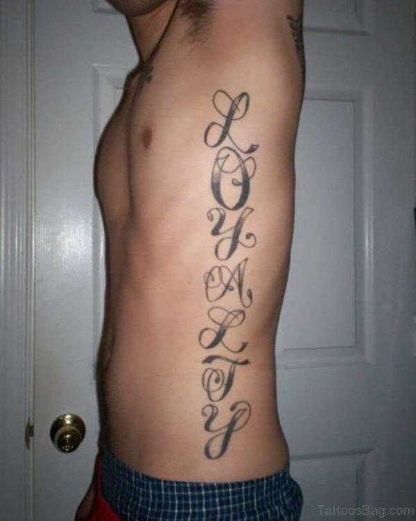 Amazing Ambigram Tattoo