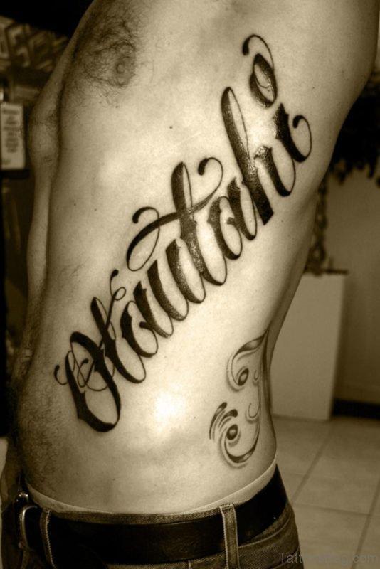 Amazing Ambigram Tattoo Design