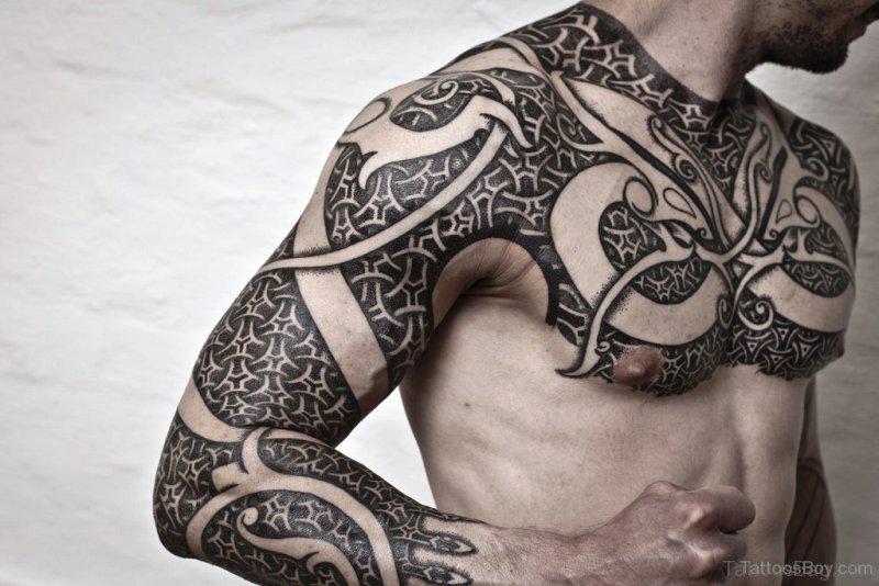 36 Stunning Armour Tattoos On Chest Dark samurai samurai armor tattoo armor tattoo on right shoulder. tattoo designs tattoosbag com