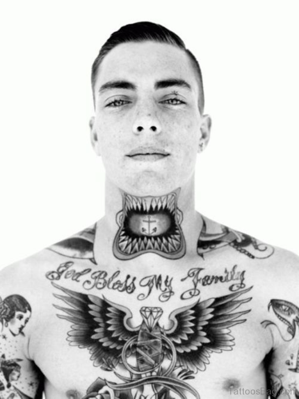 Amazing Black And Grey Tattoo Design