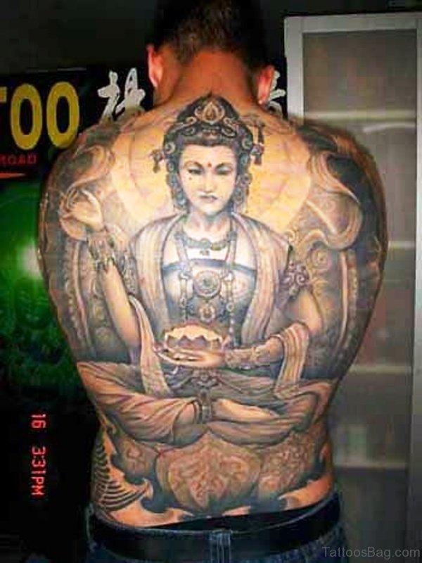 Amazing Buddha Tattoo 1