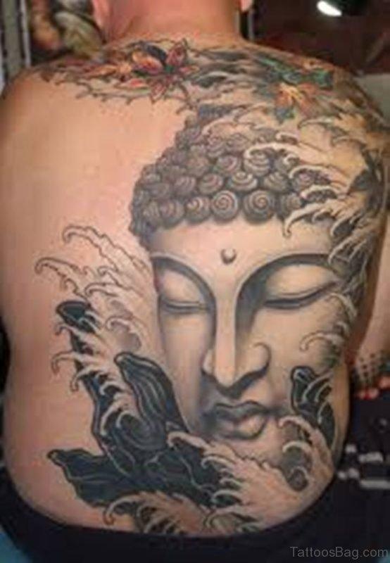 Amazing Buddha Tattoo