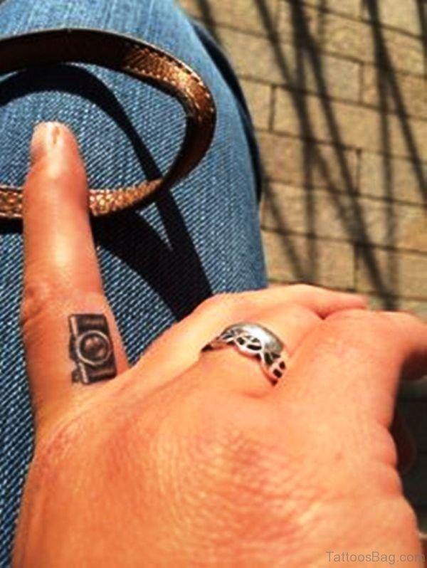 Camera Tattoo Designs On Wrist