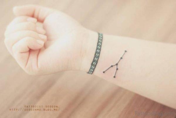 Amazing Constellation Wrist Tattoo
