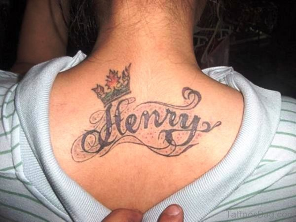 Amazing Crown Tattoo