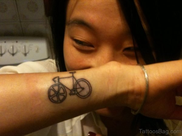 Amazing Cycle Wrist Tattoo