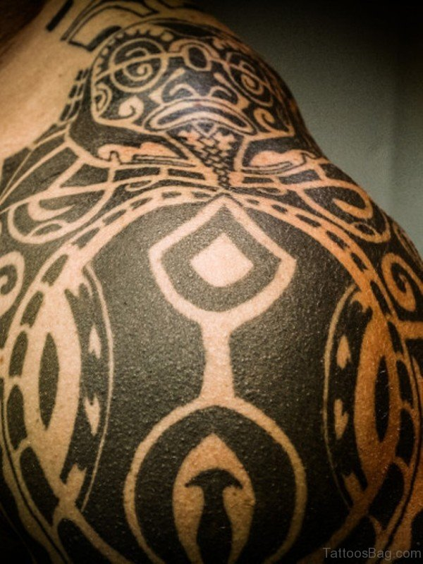 Amazing Designer Tribal Tattoo