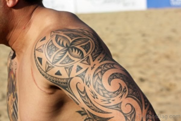 Amazing Desing Samoan Tattoo