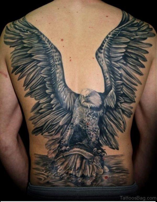 Amazing Eagle Tattoo Design
