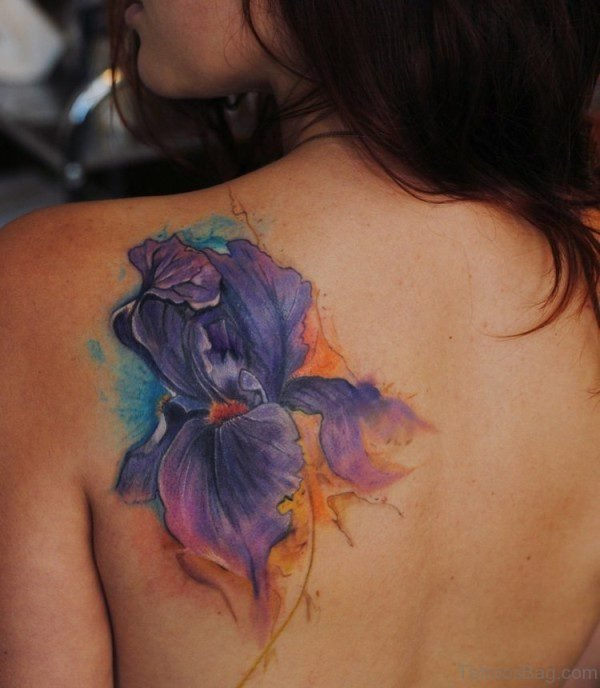 Amazing Flower Tattoo