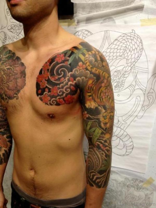 Amazing Full Sleeve Japanese Tattoo
