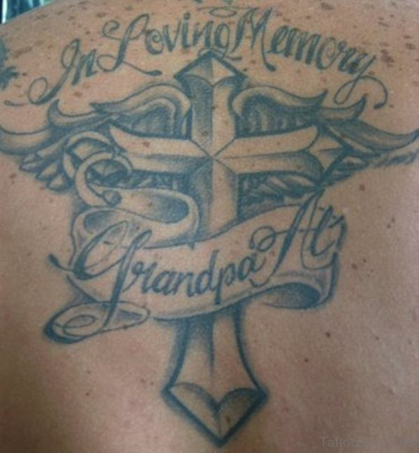 Amazing Grandpa Tattoo Design