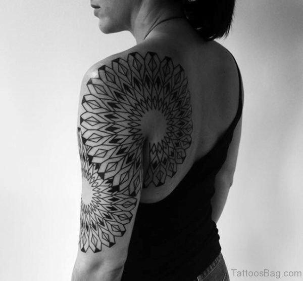 Amazing Half Sleeves Shoulder Tattoo