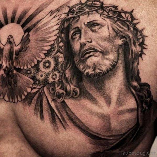 Amazing Jesus Tattoo