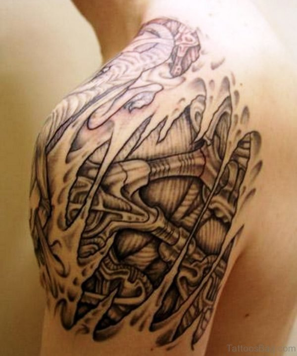 Amazing Maori Tattoo Design