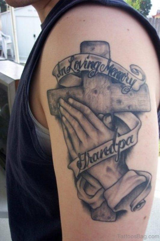Amazing Memorial Grandpa Tattoo