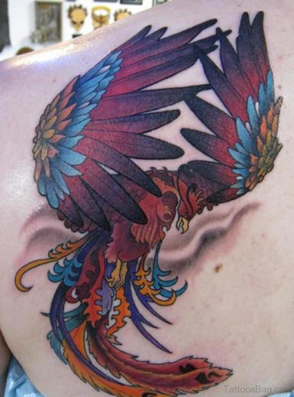Amazing Phoenix Tattoo Design